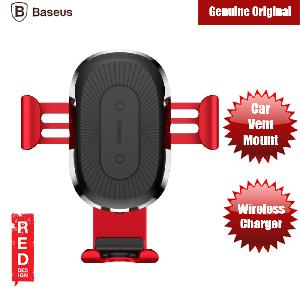 Picture of Baseus Wireless Charger Gravity Car Mount (Red) Red Design- Red Design Cases, Red Design Covers, iPad Cases and a wide selection of Red Design Accessories in Malaysia, Sabah, Sarawak and Singapore