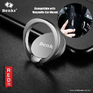 Picture of Benks Magic Circle Universal Phone Holder Grip - Silver Red Design- Red Design Cases, Red Design Covers, iPad Cases and a wide selection of Red Design Accessories in Malaysia, Sabah, Sarawak and Singapore
