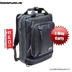 "Picture of Boomwave 3 Way Carry Convertible Series Business 14"" Laptop Bag - CS002 Red Design- Red Design Cases, Red Design Covers, iPad Cases and a wide selection of Red Design Accessories in Malaysia, Sabah, Sarawak and Singapore"