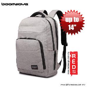 "Picture of Boomwave Light Series Backpack for laptop up to 14"" - Light Grey Red Design- Red Design Cases, Red Design Covers, iPad Cases and a wide selection of Red Design Accessories in Malaysia, Sabah, Sarawak and Singapore"