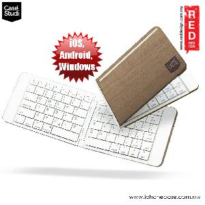 Picture of Case Studi FoldBoard Bluetooth Foldable Keyboard for IOS Andriod Window (Wood) Apple iPad Pro 9.7- Apple iPad Pro 9.7 Cases, Apple iPad Pro 9.7 Covers, iPad Cases and a wide selection of Apple iPad Pro 9.7 Accessories in Malaysia, Sabah, Sarawak and Singapore