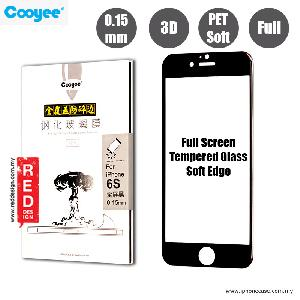 Picture of Cooyee Series Ultra Thin Full Screen Tempered Glass for Apple iPhone 6S PET Soft 3D Curve 0.15 mm - Black Apple iPhone 6S 4.7- Apple iPhone 6S 4.7 Cases, Apple iPhone 6S 4.7 Covers, iPad Cases and a wide selection of Apple iPhone 6S 4.7 Accessories in Malaysia, Sabah, Sarawak and Singapore