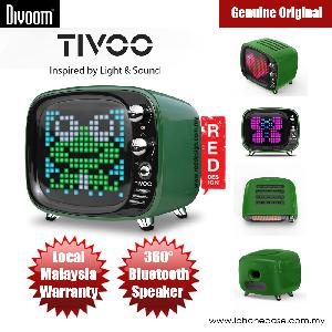 Picture of Divoom TIVOO Pixel Art Multifunction Alarm LED Bluetooth Speaker (White)