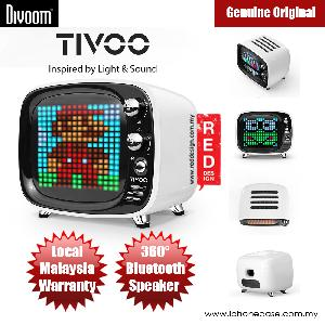 Picture of Divoom TIVOO Pixel Art Multifunction Alarm LED Bluetooth Speaker (White) Red Design- Red Design Cases, Red Design Covers, iPad Cases and a wide selection of Red Design Accessories in Malaysia, Sabah, Sarawak and Singapore