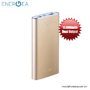 Picture of Energea ALUPAC 10000 Slim Aluminum Li-Polymer Power Pack - Gold