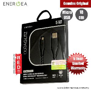 Picture of Energea DuraGlitz 3A Fast Speed Charging Micro USB Cable 18cm (Black) Red Design- Red Design Cases, Red Design Covers, iPad Cases and a wide selection of Red Design Accessories in Malaysia, Sabah, Sarawak and Singapore