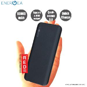 Picture of Energea Enerpac 10000C Power Bank with USB and USB-C Quick Charge 3.0 - Gunmetal Red Design- Red Design Cases, Red Design Covers, iPad Cases and a wide selection of Red Design Accessories in Malaysia, Sabah, Sarawak and Singapore