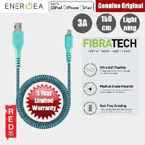 Picture of Energea FIBRA TOUGH Lightning Cable for Apple iPhone X iPhone 8 Plus iPad 150cm (Turquoise) Red Design- Red Design Cases, Red Design Covers, iPad Cases and a wide selection of Red Design Accessories in Malaysia, Sabah, Sarawak and Singapore
