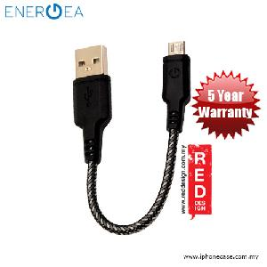 Picture of Energea NYLOTOUGH Micro USB Rapid Charge and Sync Braid Short Cable 16CM - Black Red Design- Red Design Cases, Red Design Covers, iPad Cases and a wide selection of Red Design Accessories in Malaysia, Sabah, Sarawak and Singapore