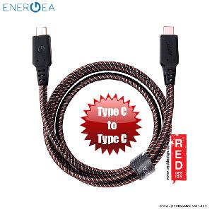 Picture of Energea NYLOTOUGH 3.1 USB Type C to Type C 1M - Black Red Design- Red Design Cases, Red Design Covers, iPad Cases and a wide selection of Red Design Accessories in Malaysia, Sabah, Sarawak and Singapore