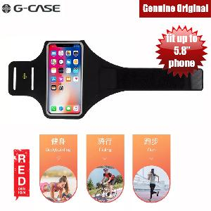 Picture of Gcase Niki Series Sport Armband with Window Compatible for iPhone X or Smartphone up to 5.8 inches (Black) Red Design- Red Design Cases, Red Design Covers, iPad Cases and a wide selection of Red Design Accessories in Malaysia, Sabah, Sarawak and Singapore
