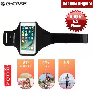 Picture of Gcase Niki Series Sport Armband with Window Compatible for iPhone X or Smartphone up to 5.8 inches (Black)