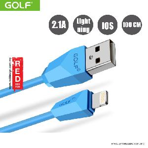 Picture of GOLF Diamond Series Lightning Cable for iPhone iPad - Blue Red Design- Red Design Cases, Red Design Covers, iPad Cases and a wide selection of Red Design Accessories in Malaysia, Sabah, Sarawak and Singapore