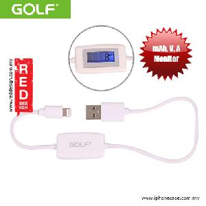 Picture of Golf LCD mAh Voltage Time Monitoring Lightning Cable Red Design- Red Design Cases, Red Design Covers, iPad Cases and a wide selection of Red Design Accessories in Malaysia, Sabah, Sarawak and Singapore