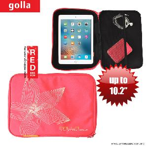 Picture of Golla Pouch Sleeve for Notebook iPad Pro 9.7, iPad Air, iPad 4 and Tablets up to 10.2 inches - Pink Apple New iPad 3rd Gen & 4th Gen- Apple New iPad 3rd Gen & 4th Gen Cases, Apple New iPad 3rd Gen & 4th Gen Covers, iPad Cases and a wide selection of Apple New iPad 3rd Gen & 4th Gen Accessories in Malaysia, Sabah, Sarawak and Singapore