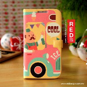 Picture of Genuine Korea Happymori Diary Type Design Leather Case for Galaxy Note 2 N7100 - Ice Cream Cart Bar Samsung Galaxy Note 2 N7100- Samsung Galaxy Note 2 N7100 Cases, Samsung Galaxy Note 2 N7100 Covers, iPad Cases and a wide selection of Samsung Galaxy Note 2 N7100 Accessories in Malaysia, Sabah, Sarawak and Singapore