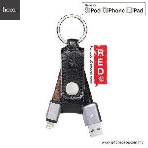 Picture of Hoco Genuine Leather MFI Lightning Cable with Keychain Design 15cm - Black Red Design- Red Design Cases, Red Design Covers, iPad Cases and a wide selection of Red Design Accessories in Malaysia, Sabah, Sarawak and Singapore