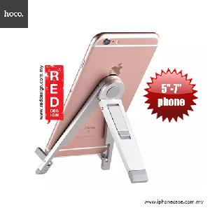 Picture of Hoco Tabletop Metal Smartphone Stand Holder - Silver Red Design- Red Design Cases, Red Design Covers, iPad Cases and a wide selection of Red Design Accessories in Malaysia, Sabah, Sarawak and Singapore