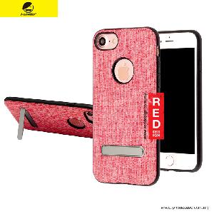 Picture of iSmile JunQing Series Fabric Kickstand Back Cover Case for Apple iPhone 7 iPhone 8 4.7 - Red Apple iPhone 8- Apple iPhone 8 Cases, Apple iPhone 8 Covers, iPad Cases and a wide selection of Apple iPhone 8 Accessories in Malaysia, Sabah, Sarawak and Singapore
