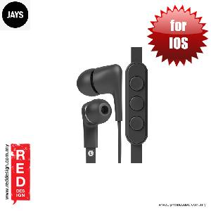 Picture of Jays a JAYS Five High Quality Earphone for IOS - Black Red Design- Red Design Cases, Red Design Covers, iPad Cases and a wide selection of Red Design Accessories in Malaysia, Sabah, Sarawak and Singapore