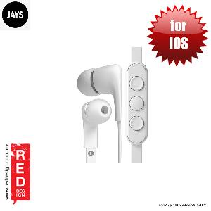 Picture of Jays a JAYS Five High Quality Earphone for IOS - White Red Design- Red Design Cases, Red Design Covers, iPad Cases and a wide selection of Red Design Accessories in Malaysia, Sabah, Sarawak and Singapore