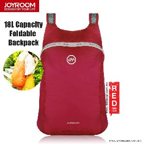 Picture of Joyroom Outdoor 18L Capacity Fodable Mini Backpack - Maroon Red Design- Red Design Cases, Red Design Covers, iPad Cases and a wide selection of Red Design Accessories in Malaysia, Sabah, Sarawak and Singapore