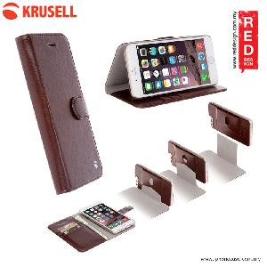 Picture of Krusell Ekero FolioWallet 2in1 Case for Apple iPhone 7 Plus iPhone 8 Plus 5.5 - Cafe Apple iPhone 8 Plus- Apple iPhone 8 Plus Cases, Apple iPhone 8 Plus Covers, iPad Cases and a wide selection of Apple iPhone 8 Plus Accessories in Malaysia, Sabah, Sarawak and Singapore