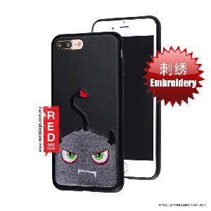 Picture of KSSDUN Embroidery Fashion Artwork Back Case for Apple iPhone 7 Plus iPhone 8 Plus 5.5 - Grey Devil Apple iPhone 8 Plus- Apple iPhone 8 Plus Cases, Apple iPhone 8 Plus Covers, iPad Cases and a wide selection of Apple iPhone 8 Plus Accessories in Malaysia, Sabah, Sarawak and Singapore