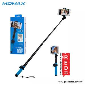 Picture of Momax Universal Pro Twist Lock Selfie Hero Monopod for Smartphone and GoPro with Wireless Bluetooth Shutter - 100cm Blue Red Design- Red Design Cases, Red Design Covers, iPad Cases and a wide selection of Red Design Accessories in Malaysia, Sabah, Sarawak and Singapore