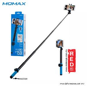 Picture of Momax Universal Pro Twist Lock Selfie Hero Monopod for Smartphone and GoPro with Wireless Bluetooth Shutter - 150cm Blue Red Design- Red Design Cases, Red Design Covers, iPad Cases and a wide selection of Red Design Accessories in Malaysia, Sabah, Sarawak and Singapore