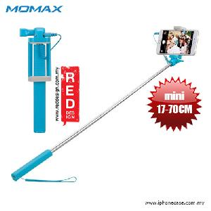Picture of Momax Selfie Mini Mini Pocket Monopod with Audio Shutter 17cm to 70cm - Blue Red Design- Red Design Cases, Red Design Covers, iPad Cases and a wide selection of Red Design Accessories in Malaysia, Sabah, Sarawak and Singapore