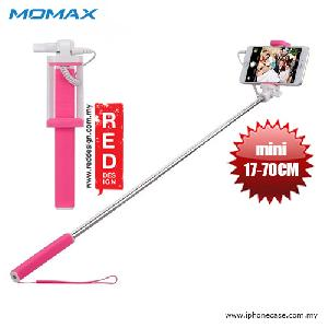 Picture of Momax Selfie Mini Mini Pocket Monopod with Audio Shutter 17cm to 70cm - Pink Red Design- Red Design Cases, Red Design Covers, iPad Cases and a wide selection of Red Design Accessories in Malaysia, Sabah, Sarawak and Singapore