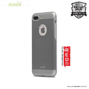 Picture of Moshi iGlaze Armor Military Grade Protection Back Cover Case for Apple iPhone 7 Plus iPhone 8 Plus 5.5 - Gunmetal Gray Apple iPhone 8 Plus- Apple iPhone 8 Plus Cases, Apple iPhone 8 Plus Covers, iPad Cases and a wide selection of Apple iPhone 8 Plus Accessories in Malaysia, Sabah, Sarawak and Singapore