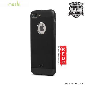 Picture of Moshi iGlaze Armor Military Grade Protection Back Cover Case for Apple iPhone 7 Plus iPhone 8 Plus 5.5 - Onxy Black Apple iPhone 8 Plus- Apple iPhone 8 Plus Cases, Apple iPhone 8 Plus Covers, iPad Cases and a wide selection of Apple iPhone 8 Plus Accessories in Malaysia, Sabah, Sarawak and Singapore