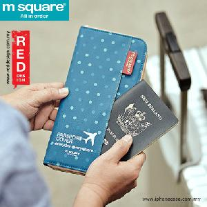 Picture of m square passport cover traveller wallet pouch - polka dot blue Red Design- Red Design Cases, Red Design Covers, iPad Cases and a wide selection of Red Design Accessories in Malaysia, Sabah, Sarawak and Singapore