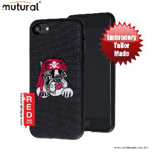 Picture of Mutural Design Embroidery Fashion Artwork Back Case for Apple iPhone 7 iPhone 8 4.7 - Pug Black Apple iPhone 8- Apple iPhone 8 Cases, Apple iPhone 8 Covers, iPad Cases and a wide selection of Apple iPhone 8 Accessories in Malaysia, Sabah, Sarawak and Singapore
