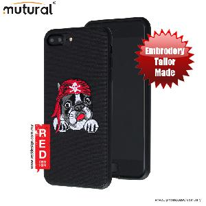 Picture of Mutural Design Embroidery Fashion Artwork Back Case for Apple iPhone 7 Plus 5.5 - Pug Black Apple iPhone 7 Plus 5.5- Apple iPhone 7 Plus 5.5 Cases, Apple iPhone 7 Plus 5.5 Covers, iPad Cases and a wide selection of Apple iPhone 7 Plus 5.5 Accessories in Malaysia, Sabah, Sarawak and Singapore