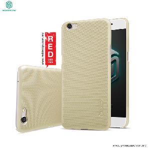 Picture of Nillkin Super Frosted Shield hard cover case for Oppo R9s - Gold OPPO R9s- OPPO R9s Cases, OPPO R9s Covers, iPad Cases and a wide selection of OPPO R9s Accessories in Malaysia, Sabah, Sarawak and Singapore