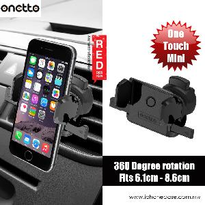 Picture of Onetto Air Vent Mount One Touch Mini Car Vent Mount (Black) Red Design- Red Design Cases, Red Design Covers, iPad Cases and a wide selection of Red Design Accessories in Malaysia, Sabah, Sarawak and Singapore