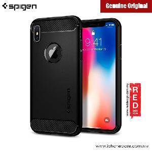 Picture of Spigen Rugged Armor Protection Case for Apple iPhone X (Black) Apple iPhone X- Apple iPhone X Cases, Apple iPhone X Covers, iPad Cases and a wide selection of Apple iPhone X Accessories in Malaysia, Sabah, Sarawak and Singapore