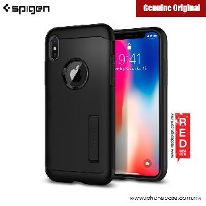 Picture of Spigen Slim Armor Protection Case for Apple iPhone X (Black) Apple iPhone X- Apple iPhone X Cases, Apple iPhone X Covers, iPad Cases and a wide selection of Apple iPhone X Accessories in Malaysia, Sabah, Sarawak and Singapore