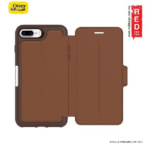 Picture of Otterbox Strada Series Folio Premium Leather Protection Case for Apple iPhone 7 Plus iPhone 8 Plus 5.5 -  Burnt Saddle Apple iPhone 8 Plus- Apple iPhone 8 Plus Cases, Apple iPhone 8 Plus Covers, iPad Cases and a wide selection of Apple iPhone 8 Plus Accessories in Malaysia, Sabah, Sarawak and Singapore
