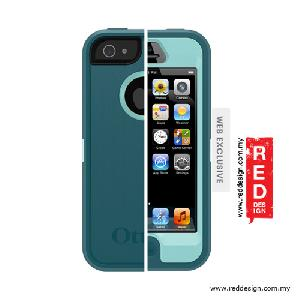Picture of OtterBox Defender Series Protection Case for iPhone 5 - Reflection (Aqua Blue Mineral Blue)
