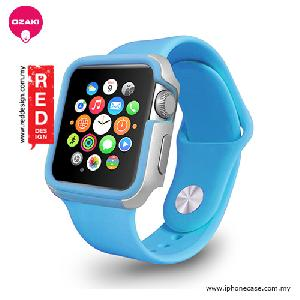 Picture of Ozaki O!coat Shockband for Apple Watch 42mm - Blue OC660BU Apple Watch 42mm- Apple Watch 42mm Cases, Apple Watch 42mm Covers, iPad Cases and a wide selection of Apple Watch 42mm Accessories in Malaysia, Sabah, Sarawak and Singapore