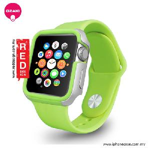 Picture of Ozaki O!coat Shockband for Apple Watch 42mm - Green OC660GN Apple Watch 42mm- Apple Watch 42mm Cases, Apple Watch 42mm Covers, iPad Cases and a wide selection of Apple Watch 42mm Accessories in Malaysia, Sabah, Sarawak and Singapore