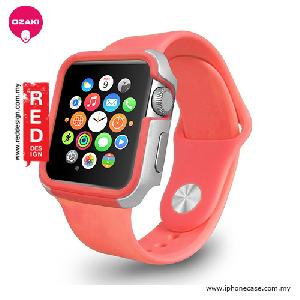Picture of Ozaki O!coat Shockband for Apple Watch 42mm - Pink OC660PK Apple Watch 42mm- Apple Watch 42mm Cases, Apple Watch 42mm Covers, iPad Cases and a wide selection of Apple Watch 42mm Accessories in Malaysia, Sabah, Sarawak and Singapore