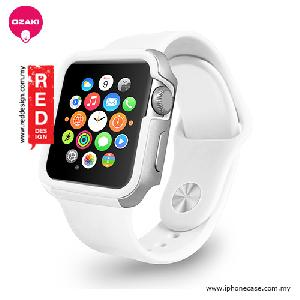 Picture of Ozaki O!coat Shockband for Apple Watch 42mm - White OC660WH Apple Watch 42mm- Apple Watch 42mm Cases, Apple Watch 42mm Covers, iPad Cases and a wide selection of Apple Watch 42mm Accessories in Malaysia, Sabah, Sarawak and Singapore