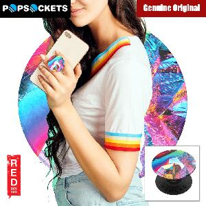 Picture of Popsockets A Phone Grip A Phone Stand An Earbud Management System - Blue Marble