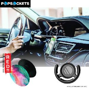 Picture of Popsockets A Phone Grip A Phone Stand An Earbud Management System - Ceiling with Popclip Red Design- Red Design Cases, Red Design Covers, iPad Cases and a wide selection of Red Design Accessories in Malaysia, Sabah, Sarawak and Singapore