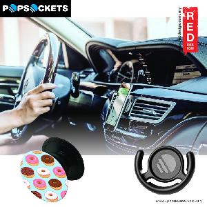 Picture of Popsockets A Phone Grip A Phone Stand An Earbud Management System - Donut with Popclip Red Design- Red Design Cases, Red Design Covers, iPad Cases and a wide selection of Red Design Accessories in Malaysia, Sabah, Sarawak and Singapore